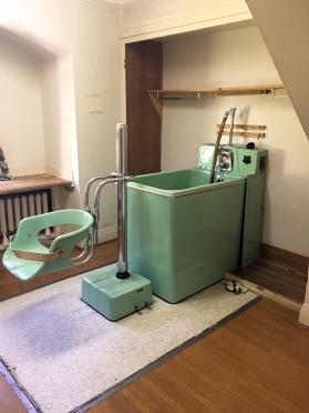 1950s bathing tub - still functional!